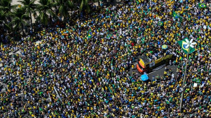 Brazil in turmoil as millions take to the streets