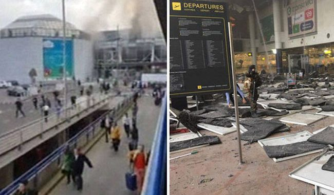 Brussels attack was a false flag