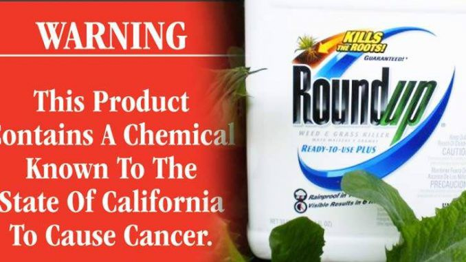 Monsanto To Sue California For Listing Roundup As A Toxic Chemical