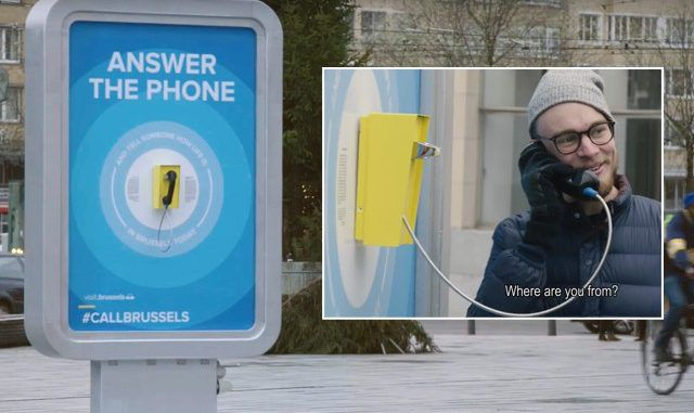 CallBrussels advertising campaign 2 months prior to terrorist attacks