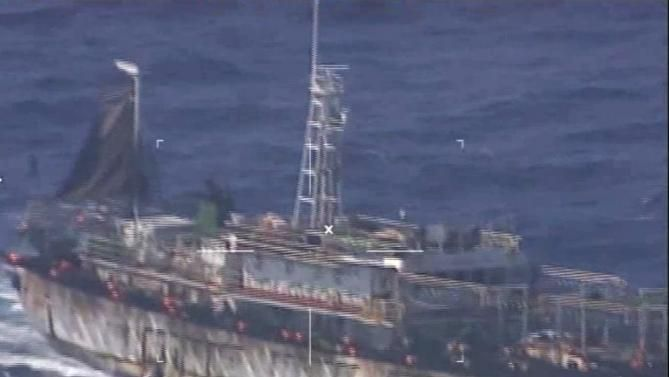 Argentinian Navy Sinks Chinese Boat For Fishing Illegally