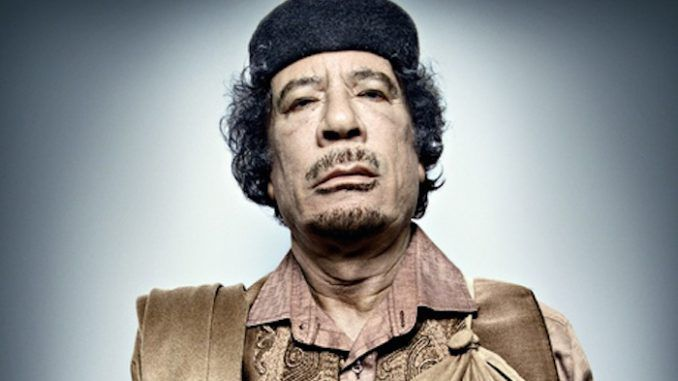 Gaddafi warned about ISIS invading Europe back in 2011