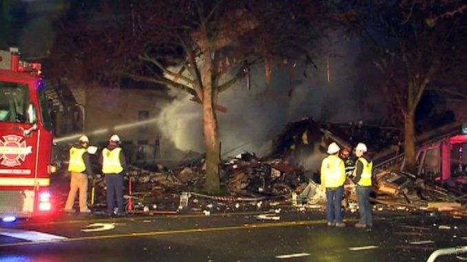 Gas Explosion Destroys Buildings & Injures 9 Firefighters In Seattle