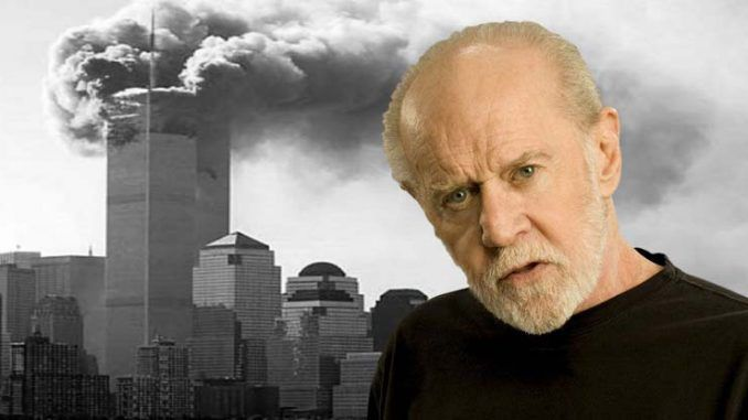 Comedian George Carlin saying official 9/11 investigation 'cannot be trusted'