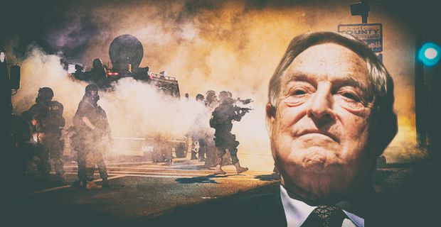 George Soros funded Ferguson riots