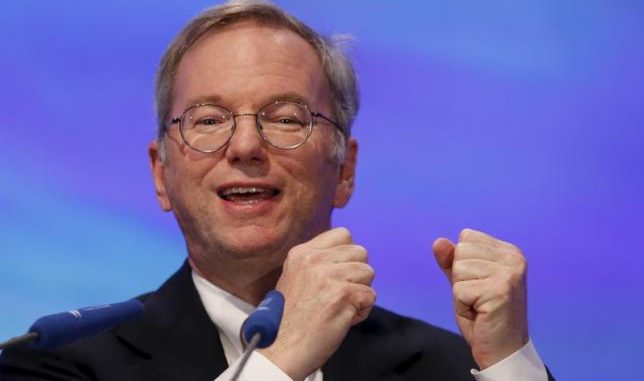 Former Google chief Eric Schmidt becomes military advisor to the Pentagon