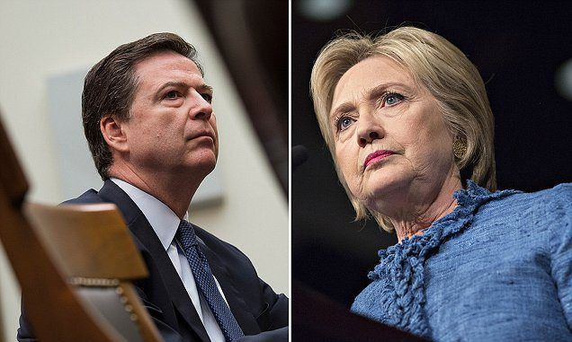 FBI boss says he is certain that Hillary Clinton broke the law