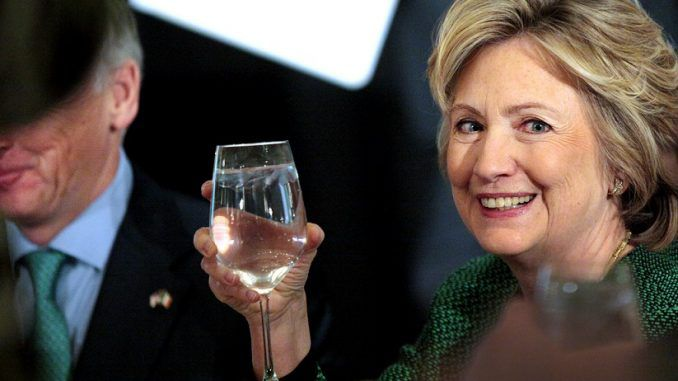 Hillary Clinton has refused to discuss the contents of the emails sent on her private email server because they are her 'private business.'
