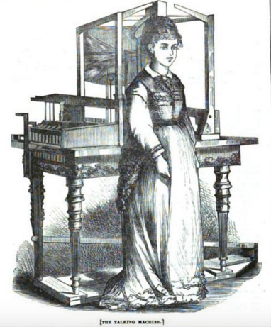 A very realistic depiction of the Euphonia, from the 1870 London Journal. (Photo: Public Domain)