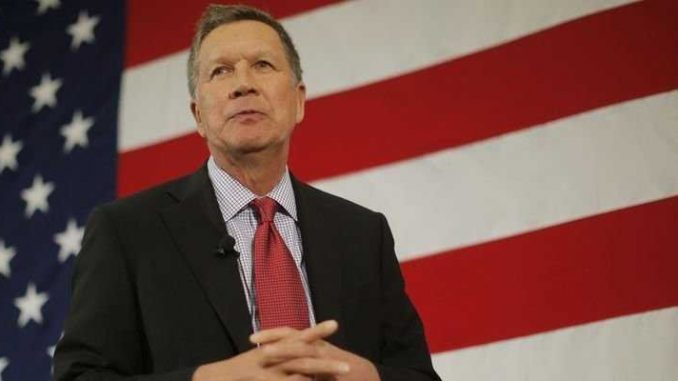 It may be down to John Kasich to pick the next US president