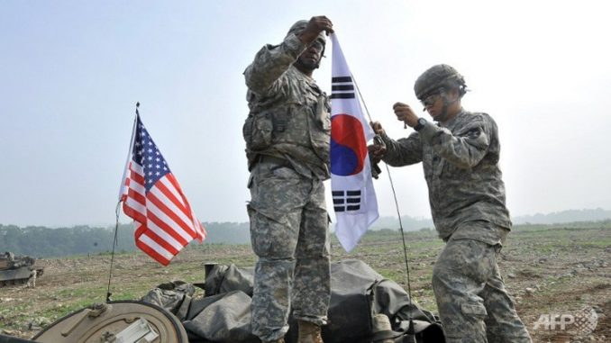 US Forces Arrive In South Korea For Joint Military Drills