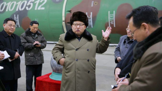 """Kim Jong-un of North Korea has threatened China with a nuclear storm, declaring China """"an enemy"""" to North Korea"""
