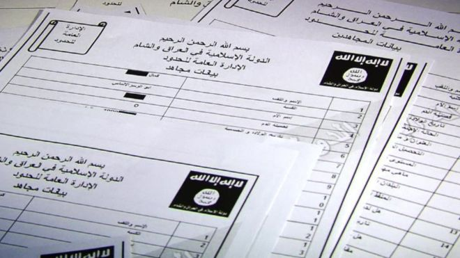 Leaked Documents May Identify Thousands Of ISIS Militants