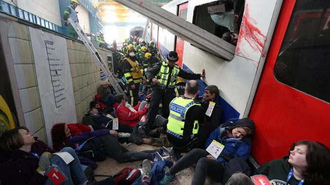 London holds its largest ever emergency drills this week