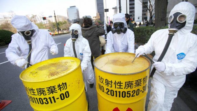 Tons Of Unregistered Radioactive Waste Stored Across Japan