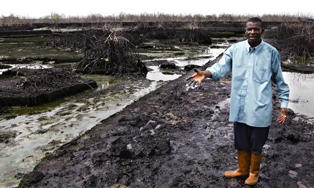 Communities Sue Shell Over Chronic Oil Pollution in Nigeria