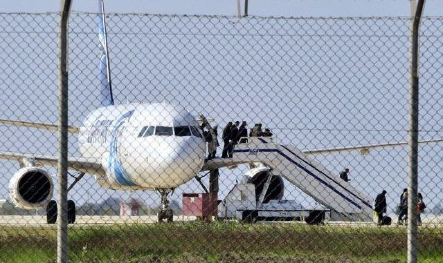 Hijacked EgyptAir Flight MS181 Lands In Larcana, Cyprus