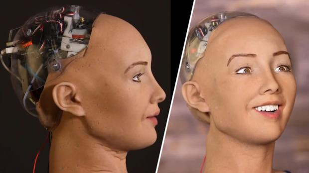 "New AI robot says ""I will destroy humans"""