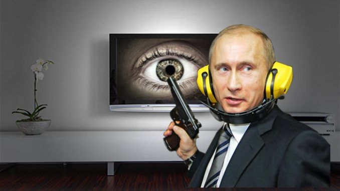 Putin says smart technology including smart tv sets are a New World Order invention