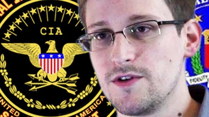 Edward Snowden claims that the CIA invented the global warming/climate change scam