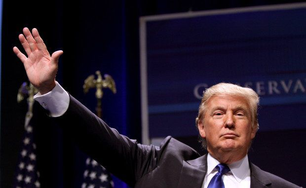 Donald Trump says Israel is a victim of Palestinian aggression