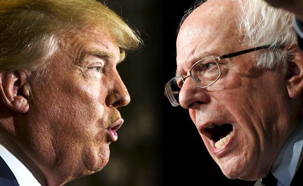 Donald Trump Accuses Bernie Sanders Of Inciting Protests