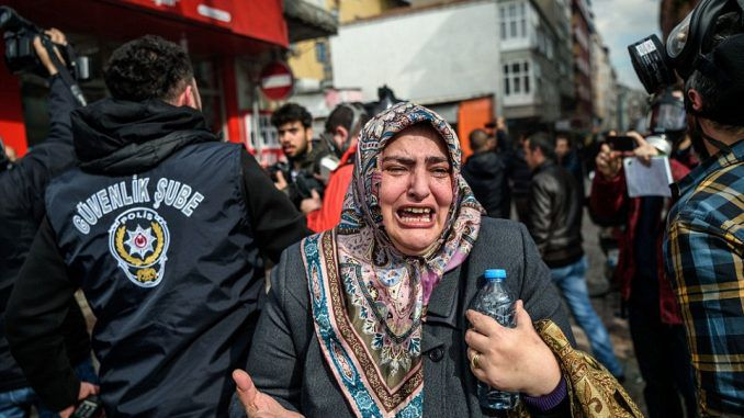 Censorship of independent media in Turkey protests