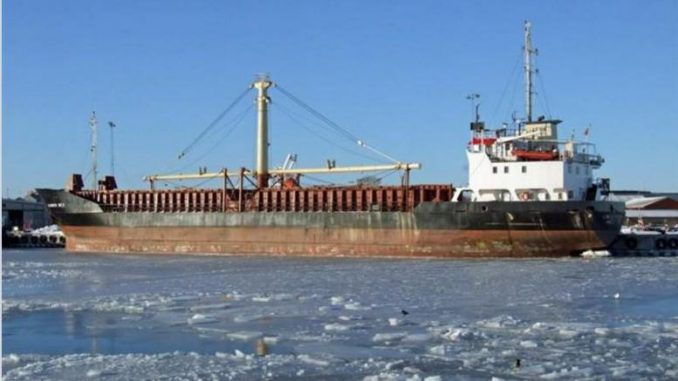 Turkish ship loaded with explosives heads to Lebanon