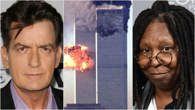 Charlie Sheen and Whoopi Goldberg to star in new 9/11 film