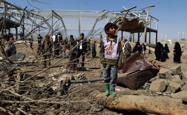 UN: Saudi-Led Air Strikes On Yemen Market Killed 119