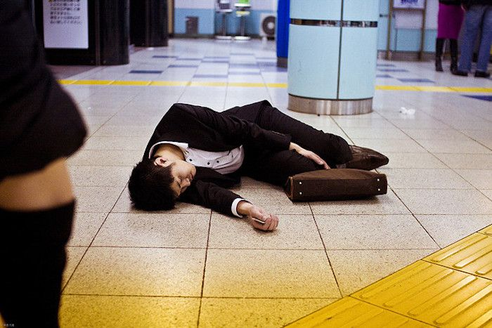Japan's Deaths From Overworking Are Rising At An Unsettling Pace