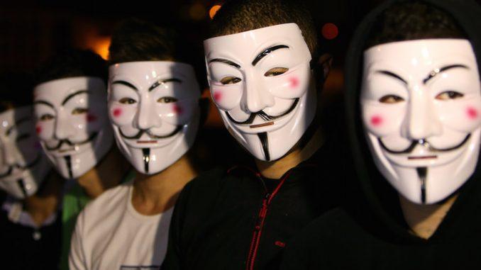 America make it a criminal offence to wear an Anonymous mask