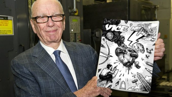 Rupert Murdoch's Vice magazine publishes hit piece on conspiracies and conspiracy theorists