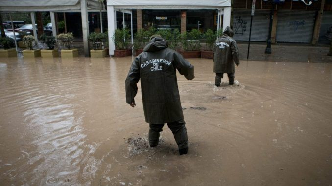 Floods In Chile Leave Four Million People Without Drinking Water