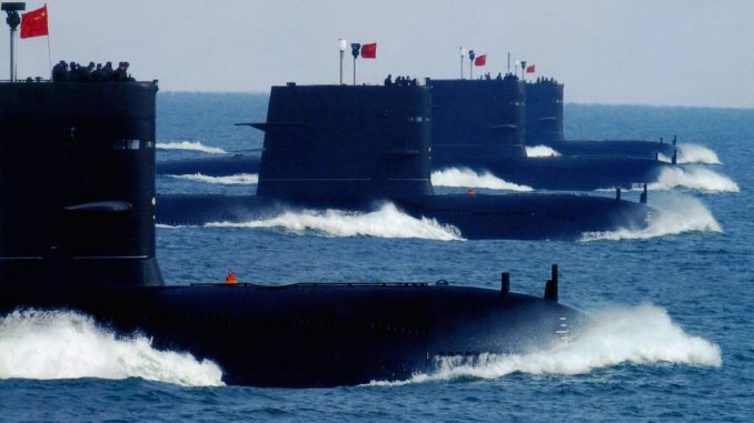 China deploys subs to west coast of America