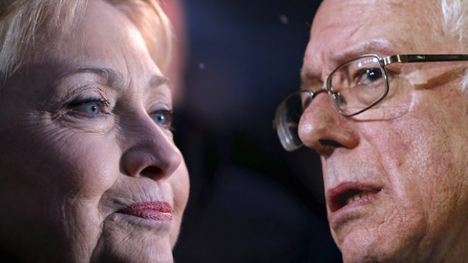 Senator Bernie Sanders earned less money in one year than Hillary Clinton did in one speech