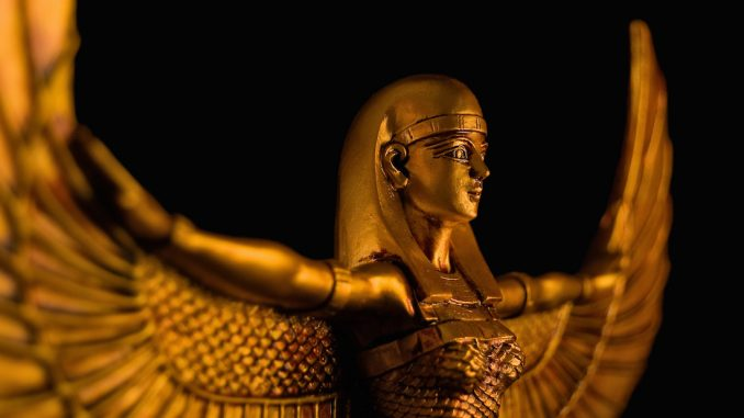 Egyptian Godess ISIS discovered in India