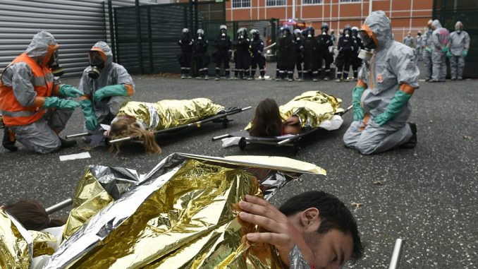 France stage crisis actor terror drills ahead of Euro 2016