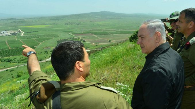 Netanyahu Says Israel Will Never Withdraw From The Golan Heights