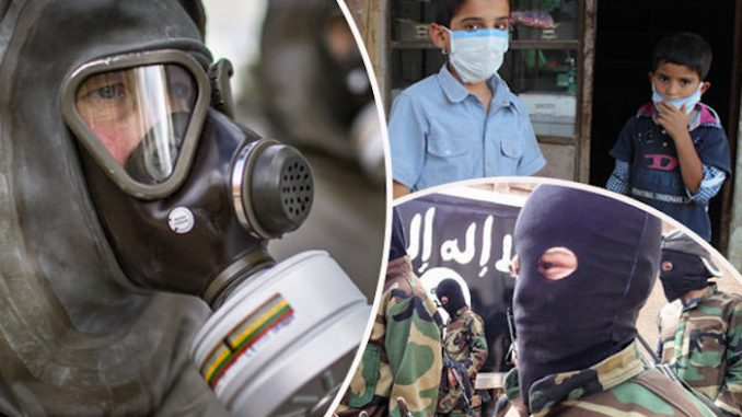 ISIS caught using mustard gas in Syria