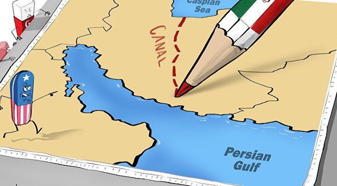 Iran Plans To Link Caspian Sea With Persian Gulf