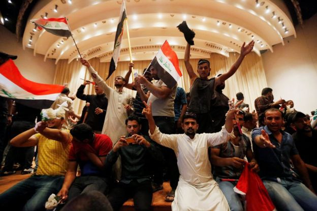 Iraq -Inside parliament