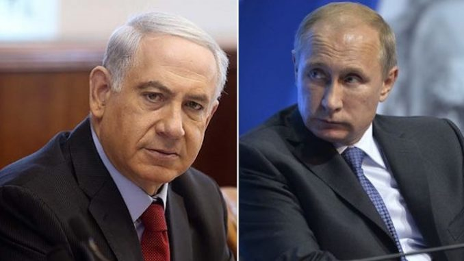 Israel accuse Russia of firing at their aircraft in Syria