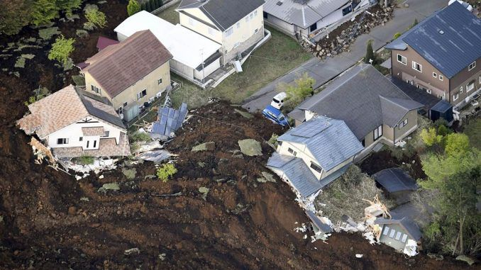 Japan: 70,000 Evacuated After Earthquakes & Devastating Landslides