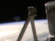 NASA live video feed captures 'horseshoe UFO' before cutting out