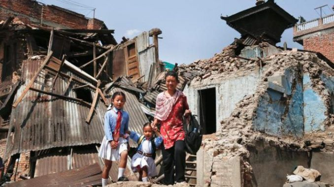 Children Who Survived Nepal Earthquake Sold To British Families