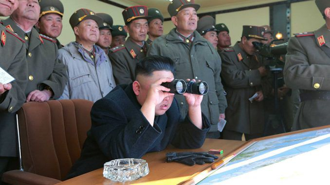 North Korea Test Fires New Anti-Missile System