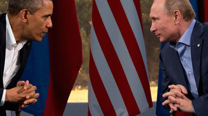 Obama asks Putin to help him bring peace to Syria