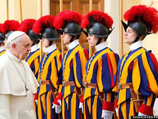 Pope Francis has quietly gathered an army of between 'ten to twelve thousand highly trained soldiers' according to conservative estimates by Vatican observers, and has even deployed a number of these troops in Syria.