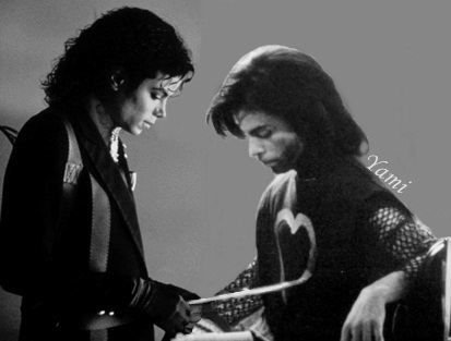 Prince and Michael Jackson: both silenced by the illuminati record industry. RIP